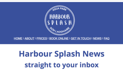 Sign up to the Harbour Splash newsletter